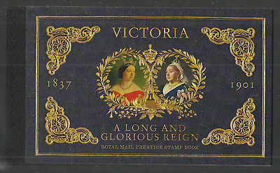 Gb 2019 Royalty Queen Victoria Bicentenary Prestige Booklet Mnh