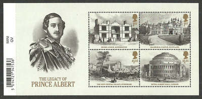 Gb 2019 Pre Issue Royalty Queen Victoria Bicentenary Prince Albert M/Sheet Mnh