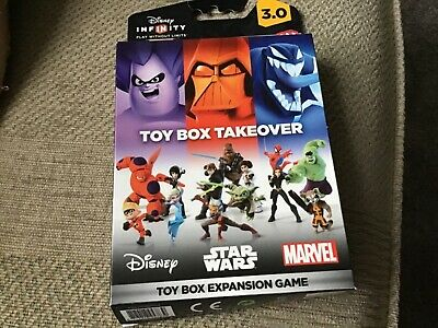 disney infinity 3 toy box takeover expansion game brand new