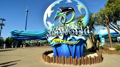 Enjoy 4 San Diego Seaworld One Day Passes VALUE $91.99 EACH
