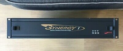 Ross Synergy 1 Digital Video Production Switcher 100-120/200-240V 180W 2.7A