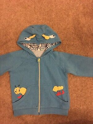 Childs Blue M & S 18-24 Month Hoodie
