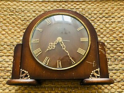 Vintage Smiths Sectric Mantle Clock 1931-1955 Smiths English Clocks Untested