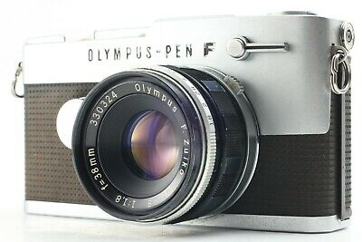 【EXC+++】OLYMPUS PEN FT 35mm Film Camera w/ 38mm f1.8 Lens from JAPAN