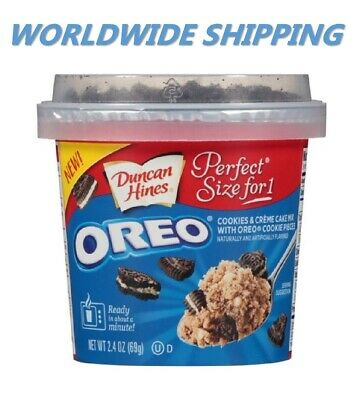 Duncan Hines Perfect Size for 1 Oreo Chocolate Chip Cake Mix WORLD SHIP