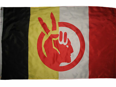 American Indian Movement Flag Native American Rights Protest 2x3 ft Banner AIM