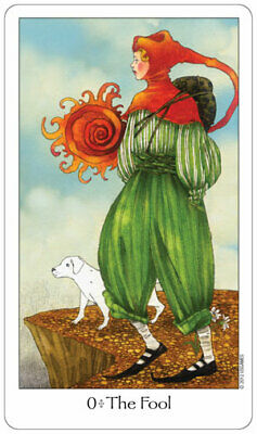 Dreaming Way Tarot Cards,Traditional Tarot with Artistic Flair, New, Ships FREE