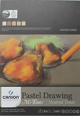 Canson Pastel Drawing Mi-Teintes - Neutral Tones - Choose Your Size