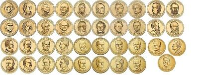 All 78 P/&D US Presidential One Dollar coin complete set in new Dansco 7184