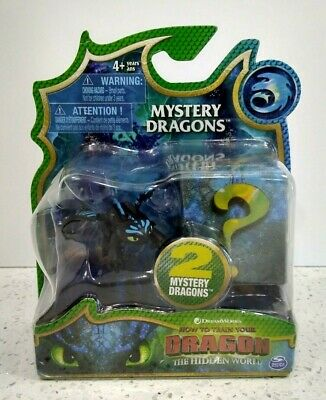 How to Train Your Dragon The Hidden World Alpha Toothless + 2 Mystery Dragons