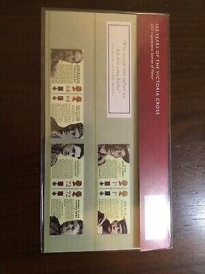 "Royal Mail Mint Presentation Pack ""Victoria Cross"" slight defects @ under face"