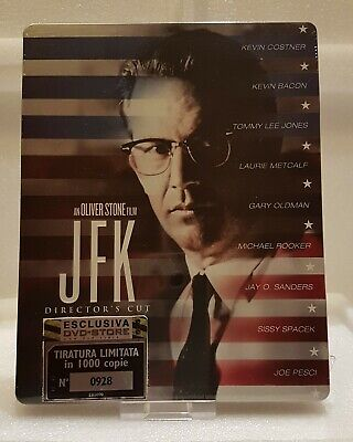 JFK - Director's Cut (Blu-ray SteelBook) (DVD-Store.it Exclusive) [Italy]