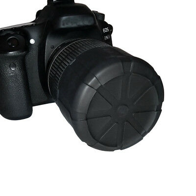 Universal Waterproof Camera Lens Silicone Protection Cover Cap For Nikon H Canon