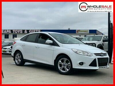 2014 Ford Focus LW MkII Trend White Automatic A Sedan