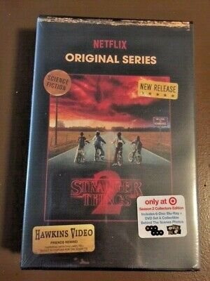 Stranger Things Season 2 Blu-Ray and DVD Collector's Edition - NEW - Target