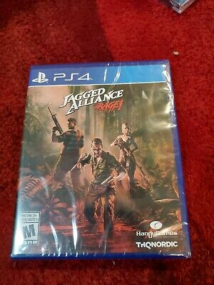 Jagged Alliance Rage! Ps4 Video Game New Sealed