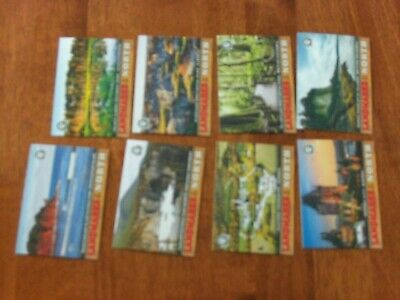 2018-19 OPC Coast To Coast landmarks of the north 8 cards lot ,canadian tire
