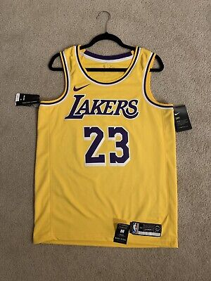 new style 46486 78a6f LEBRON JAMES ICON Edition Swingman Jersey (Lakers) Size ...