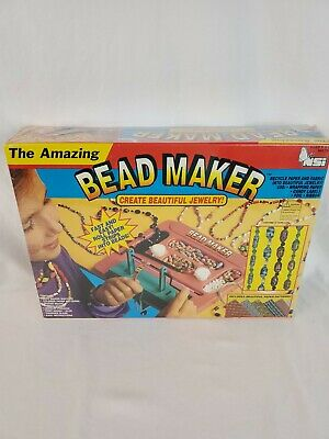 The Amazing Bead Maker NSI Make Beads Out of Recycled Paper and Fabric
