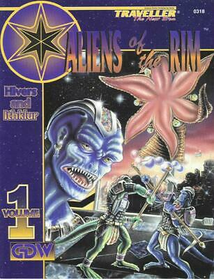 GDW Traveller New Era Aliens of the Rim #1 - Hivers and Ithklur SC NM
