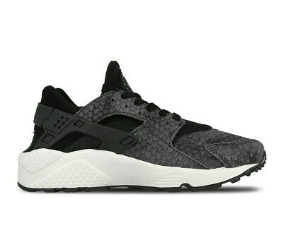 new photos 3c9cb 80f15 Neuf pour Femmes Nike Air Huarache Run Premium Baskets Noir 683818 013
