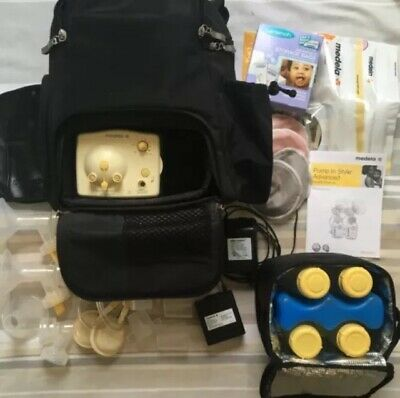 Medela In Style Advanced Double Breast Pump with Backpack+accessories