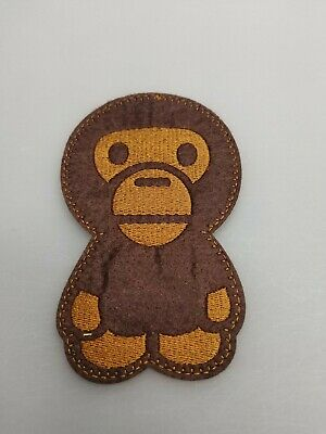 MILO MONKEY EMBROIDERED IRON-ON PATCH THRILLHAUS