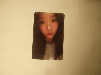 Girls' Generation SNSD Taeyeon 1st My Voice Fine A Photo Card Official