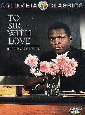 To Sir With Love (DVD, 2000) NEW sealed.