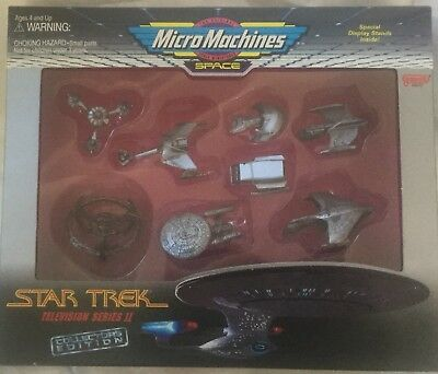 Star Trek Micro Machines Collectors Edition Television Series 2 Item No:66075