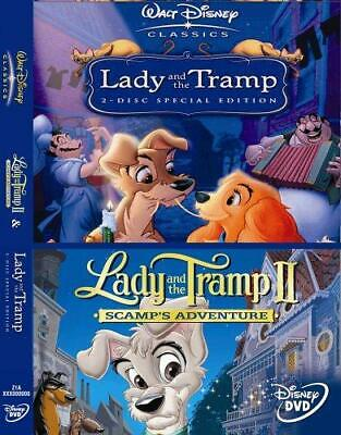 Lady and the Tramp 1 & 2 Double Pack [1955] [DVD], Good DVD, , Wilfred Jackson,