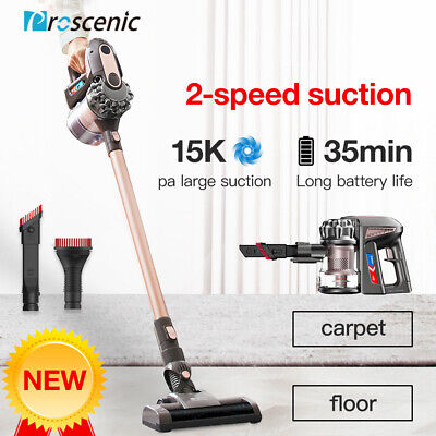 Proscenic P8 Plus Cordless Vacuum Cleaner Handheld Bagless LCD Display 15,000 Pa