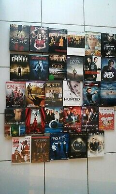 gros lot 29 coffrets dvd de séries TV Rome, Mad Men, the good wife, Boardwalk...