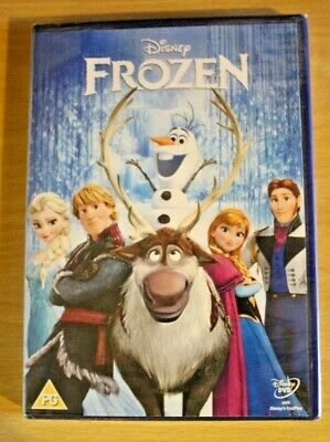 Disney Frozen DVD New and Sealed. Free fast delivery