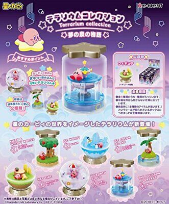 Kirby Super Star Terrarium Complete Set of 6 Shokugan / Gum Rement Japan 191486