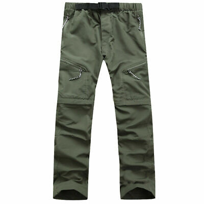 Men Waterproof Hiking Camping Fishing Breathable Trouser Outdoor Quick Dry Pants