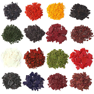 Candle Wax Dye - Dye Chips for Making Candles - 16 Dye Colors - A Great Choice -