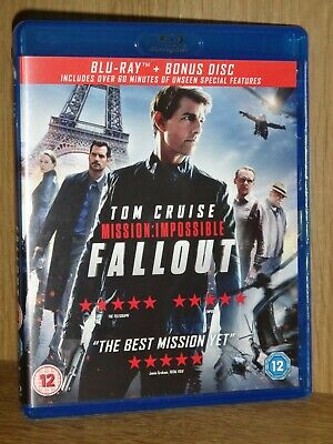 bluray comme neuf - MISSION IMPOSSIBLE 6 FALLOUT