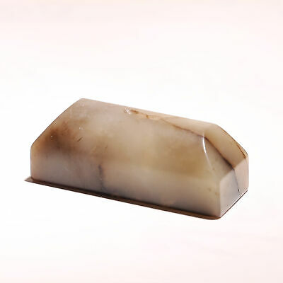 Rare Han Dynasty Vintage Old Chinese He Tian Jade Square Seal Stamp Signet SA184