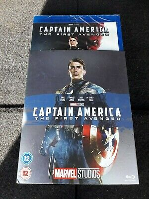 Captain America The First Avenger  Blu Ray Sealed With Limited O Ring Sleeve