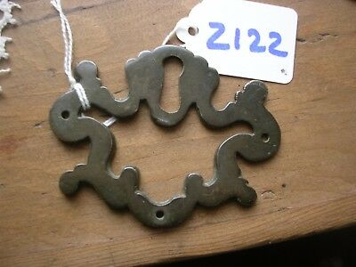 Antique Brass Escutcheon (Z122)