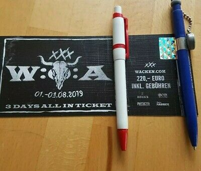 1x Wacken 2019 3 Days All In Ticket