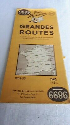 Michelin Grandes Routes French map
