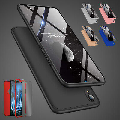 Case for iPhone XR Cover 360 Luxury UltraThin Slim Shockproof Hybrid Silicone