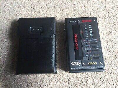 Toshiba KT-V860 Walky Walkman Cassette Player