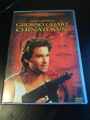 GROSSO GUAIO A CHINATOWN EDIZ. 2 DVD COME NUOVO John Carpenter Kurt Russell