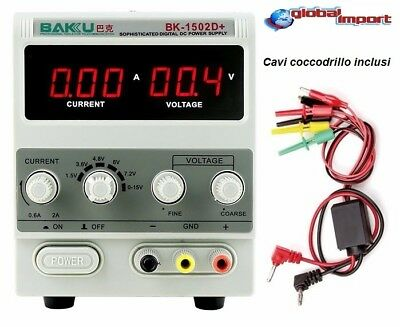 Stabilized Power Supply Bench Transformer Variable Adjustable 0-15V 2A