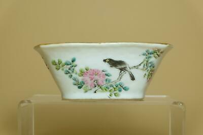 Antique Chinese Porcelain Bowl With Ancient Poetry.Marked.