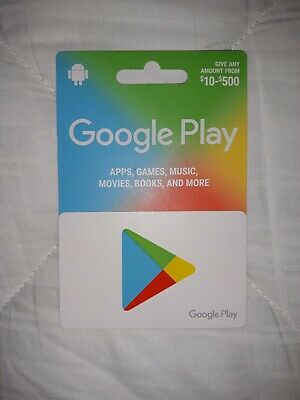 Google Play 25.00 Gift Card