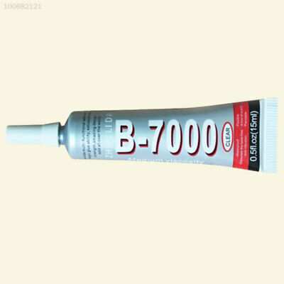 7CA6 4E33 B-7000 15ml Super Glue Adhesive Dry Strong Sticky Metal Glass Rubber